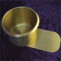 Brass Slide In Cup