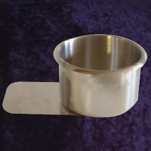 Large Stainless Steel Slide In Cup